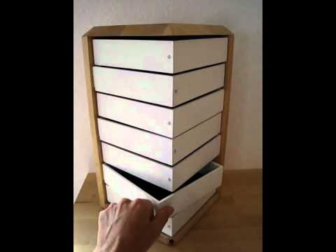 schmuckschrank mit entscheidungshilfe youtube. Black Bedroom Furniture Sets. Home Design Ideas
