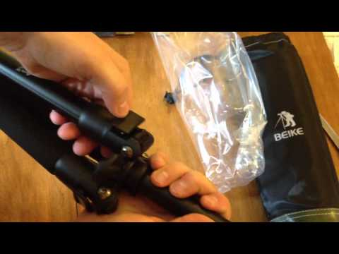 Beike 555 Travel Tripod Unboxing