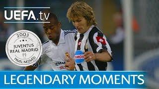 Agony and ecstasy for Juventus' Nedvěd (2003)