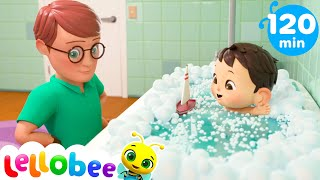 Splish Splash Get Rid of Bad Germs Bath Song + More Nap Time and Lullabies Songs for Kids