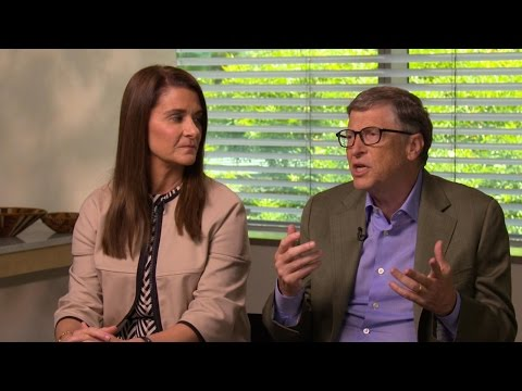 Bill and Melinda Gates Talk about the Giving Pledge | Real Biz with Rebecca Jarvis | ABC News