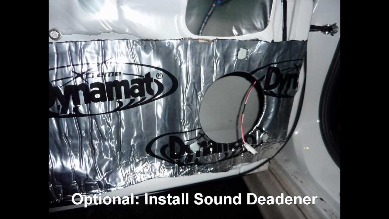 how to replace rear door speakers in a subaru impreza youtube. Black Bedroom Furniture Sets. Home Design Ideas