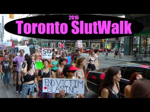 Toronto slut walk photos