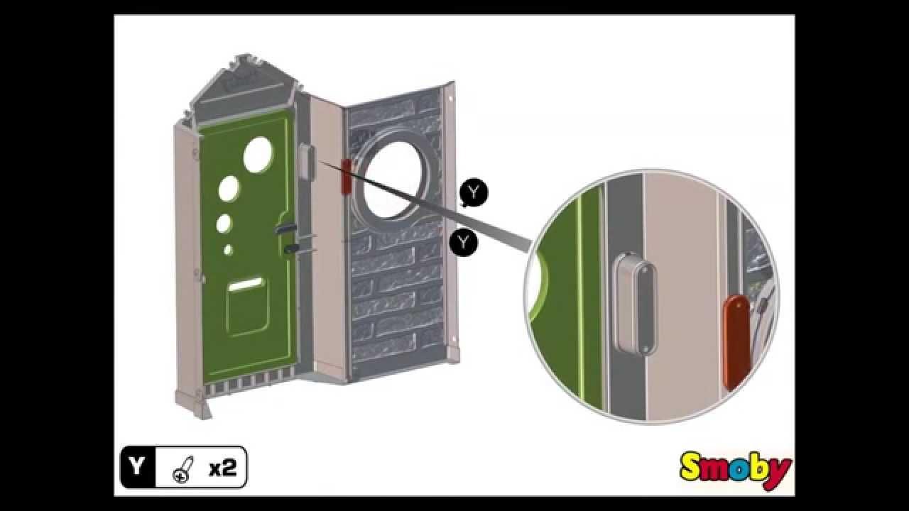Instrucciones de montaje casa My House de Smoby - YouTube