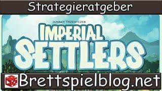 Strategieratgeber für Imperial Settlers: Grundlagen