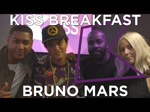 Bruno Mars talks 24K Magic, Magic Tricks, Mash...