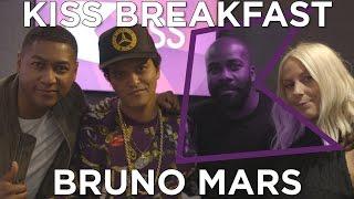 Bruno Mars talks 24K Magic, Magic Tricks, Mash Ups & Touring