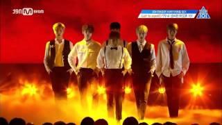Shape Of You (Major Lazer remix) - Produce 101 season 2 dance (mirrored ver)
