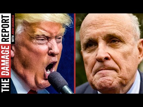 Trump FURIOUS At Giuliani For Not Overthrowing Election