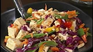 Colorful Cooking - Sweet Chili Tofu Salad