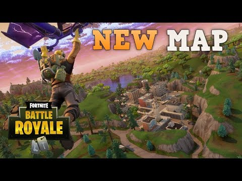 Checking Out the New Locations PS4 Pro Fortnite Battle Royale