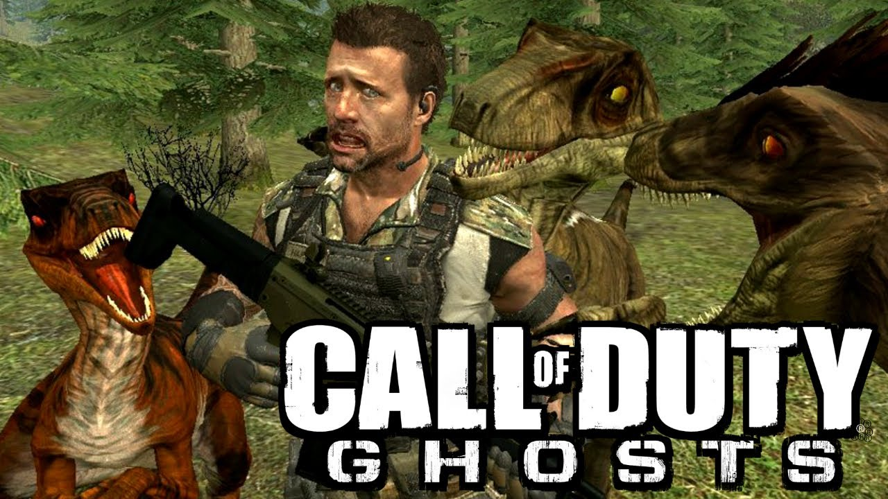 Call Of Duty Quot Ghosts Dinosaur Mode Quot Quot Ghosts Zombies