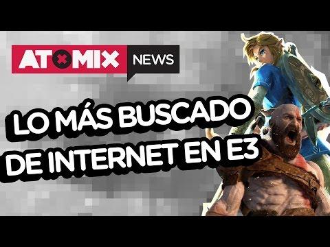 E3 2016 Resaca – LO MÁS BUSCADO EN INTERNET DE E3– #ATOMIXNEWS [20/06/16]