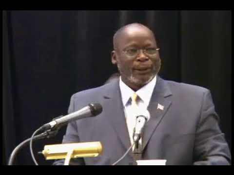 The Faces of Africa- Dr. John Garang -defined the problems of the Sudan