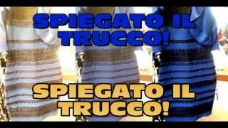 Spiegato il trucco! Di che colore è il vestito blu e nero o bianco e oro?
