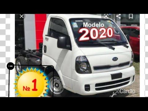 Kia bongo 2021 com ar condicionado e central de multimídia ...