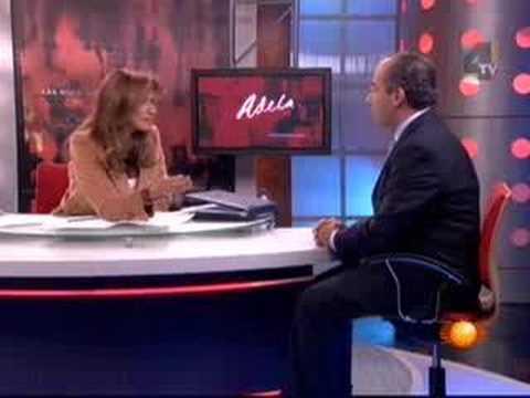 Felipe Calderón con Adela Micha 1