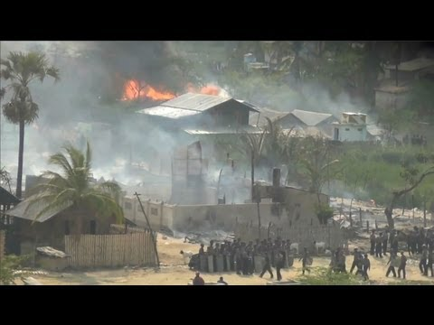 Deadly Riots Erupt in Central Burma