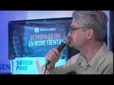 Søren Pind fremfører valgsang til Venstre-fest