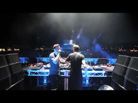 Martin Garrix & Hardwell - Helicopter - Live In Australia 2014