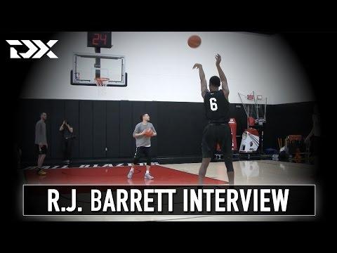 R.J. Barrett Nike Hoop Summit Interview
