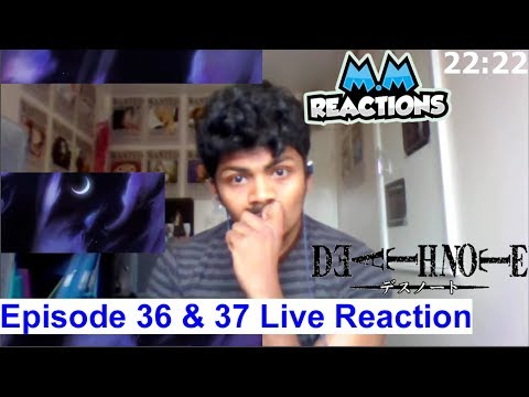 """Finale - """"New World"""" - Death Note Anime Episode 36 & 37 Live Reaction"""