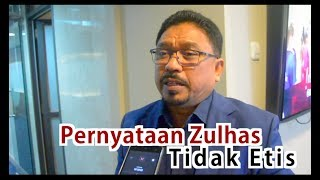 Pernyataan Zulhas Tidak Etis