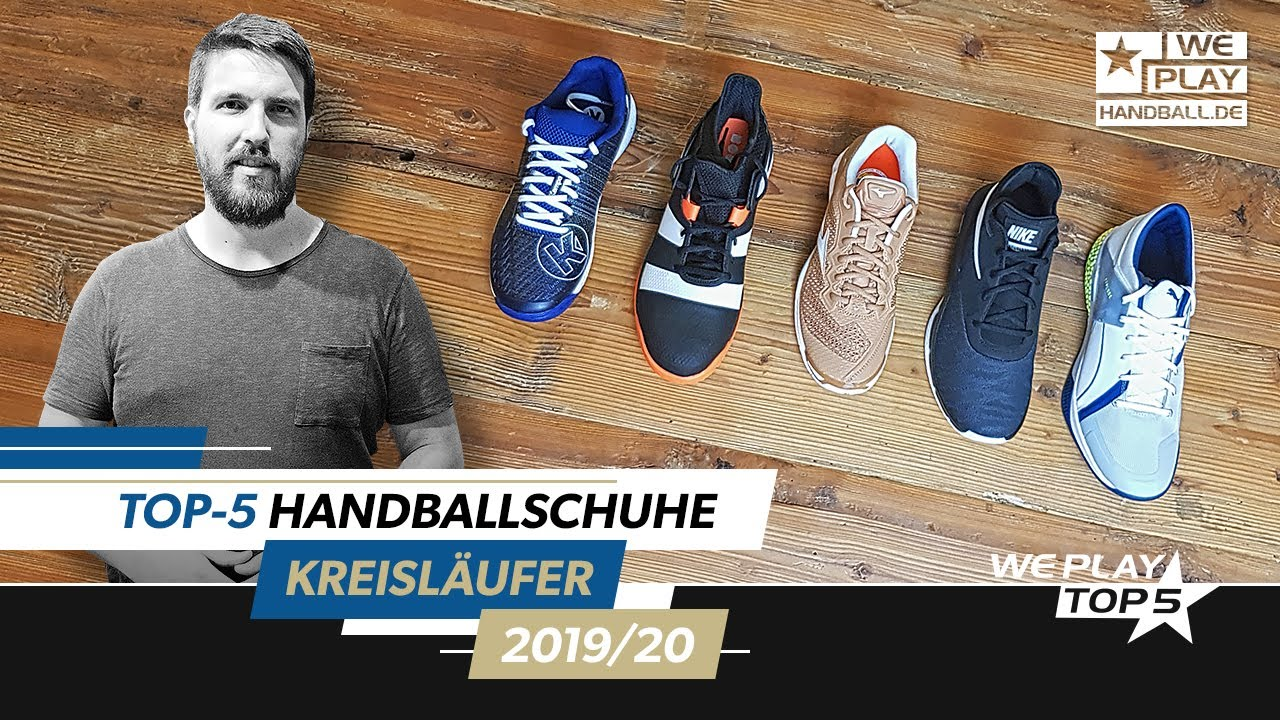 Top-5 Handballschuhe Kreisläufer/innen