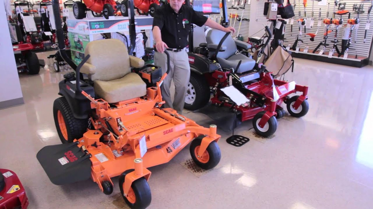 Toro and Scag Lawnmowers at Moe's Outdoor Equipment & Supplies (2012)