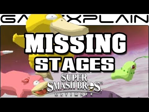 The 15 Missing Stages of Super Smash Bros. Ultimate! Which Ones Haven't Yet Made the Cut?