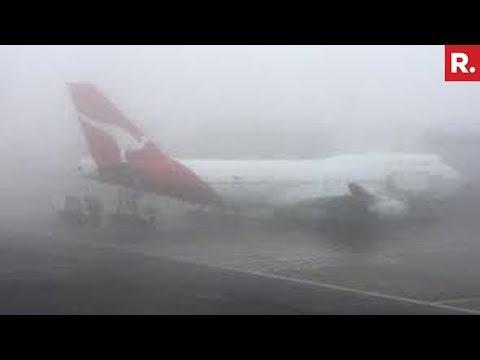 Fog Affects Rail & Flight Operations In Delhi