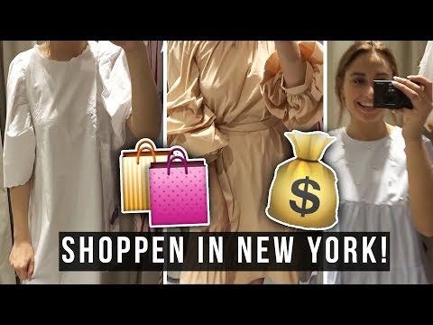 Central Park + SHOPPEN! 🗽 New York vlog no. 2 ☆ SAAR