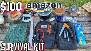$100 Amazon Survival Kit - 7 Day Survival Challenge