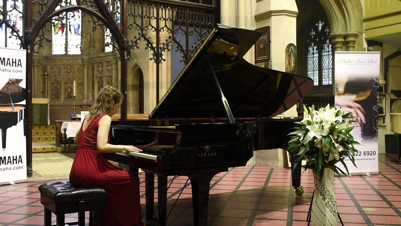 Ljubica Stojanovic - 1st Prize Winner - Windsor International Piano  Competition
