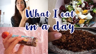 WHAT I EAT IN A DAY | Katerina Visseri