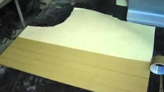 видео Стекловолокно и стеклоткань для авто: как сделать матрицу