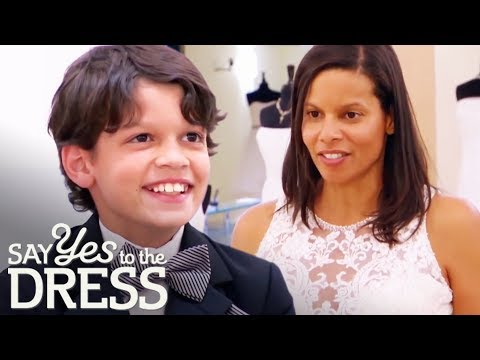 Bride's Fashionista Son Picks Out The Most Beautiful Dress!   Say Yes To The Dress Atlanta