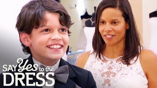 Bride's Fashionista Son Picks Out The Most Beautiful Dress! | Say Yes To The Dress Atlanta