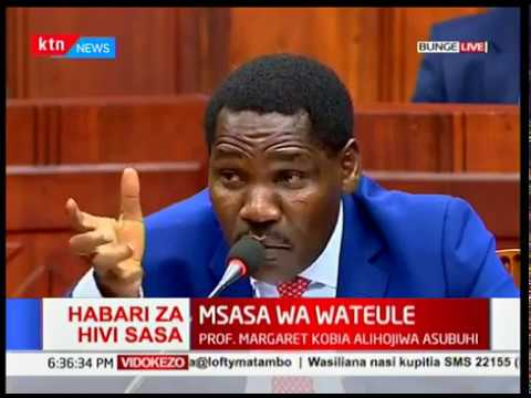 Peter Munya's BIG PLAN for East Africans if approved to be CS by parliament