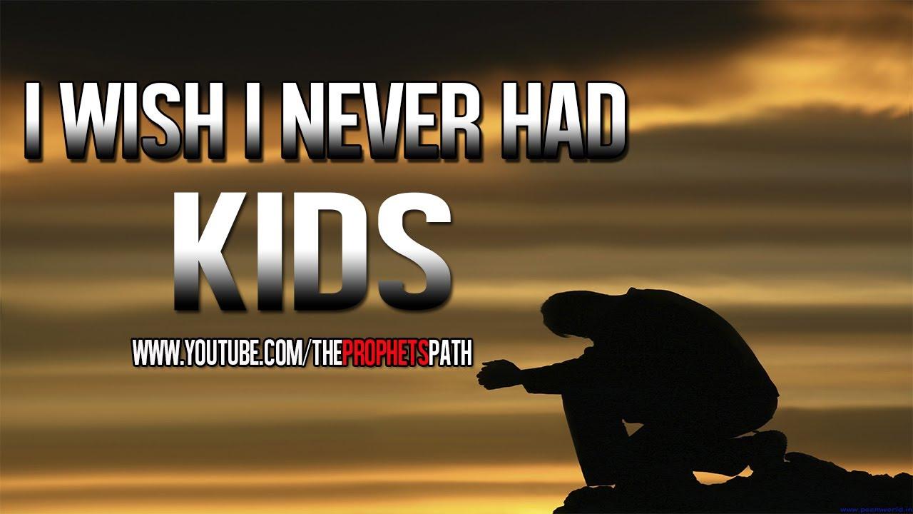 I Wish I Never Had Kids ᴴᴰ   *Emotional True Story* - YouTube