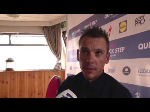 Philippe Gilbert - interview d'avant course - Tour des Flandres / Ronde van Vlaanderen 2017