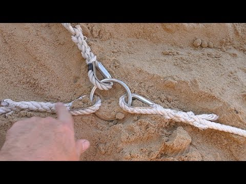Making A Running Line For Anchoring A Boat