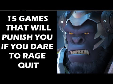 15 Games That Hand Out Severe Punishments if You Dare To Rage Quit