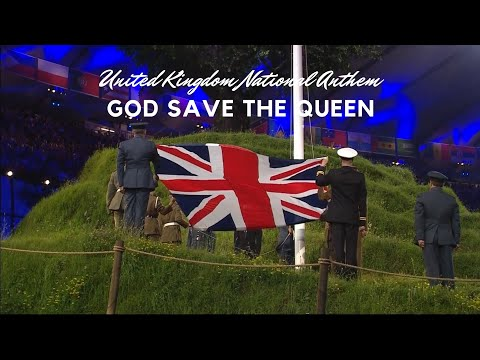 God Save The Queen At The London 2012 Olympic Games