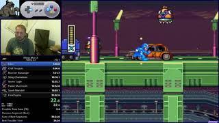 Разбор мирового рекорда в Mega Man X 100%.
