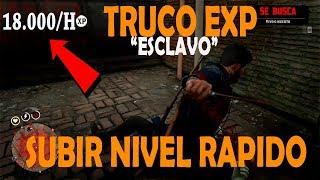 Red Dead Redemption 2 ONLINE XP Glitch COMO subir de NIVEL FACIL Y RAPIDO👀[TRUCO DEL ESCLAVO]💪