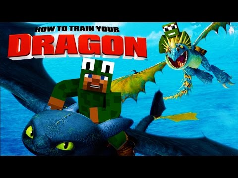Thumbnail: Minecraft - HOW TO TRAIN YOUR DRAGON 2 - [1] 'Isle of Berk'