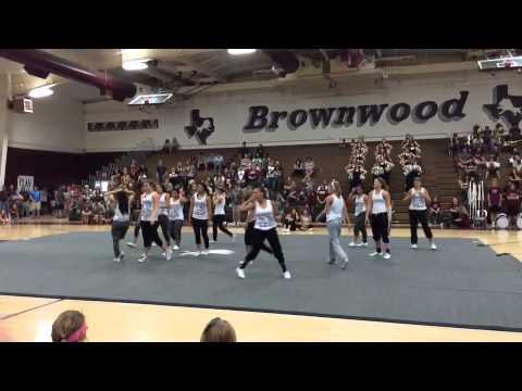 Brownwood High School Hip Hop Pep Rally 2014