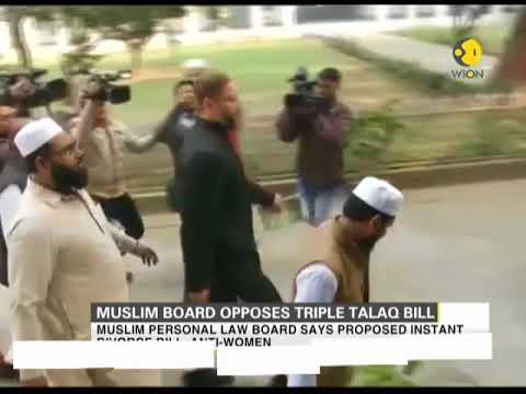 Muslim Personal Law Board demands withdrawal of 'triple talaq bill'