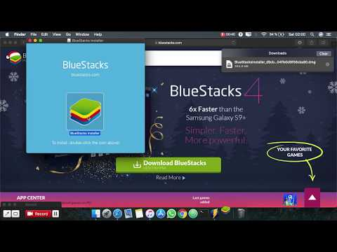 How To Download And Install Bluestacks On Mac OS
